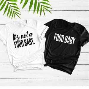 "Pregnancy Announcement ""Food Baby"" BundleNWT for sale"